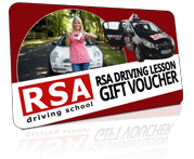 Driving Lesson Gift Voucher in Dublin